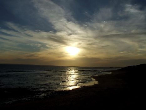 Point Lonsdale Sunset I by Azayreon