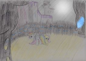 Changeling Ambush by UnlicensedBrony