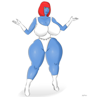 Mystique hips by JegFallen