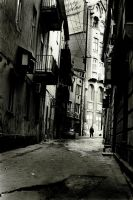 Shady streets by Cambion-Art