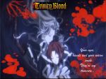 trinity blood wallpaper by YarrowPyxie