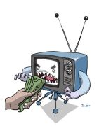 TV_money_Eater by budilnik