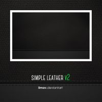 Simple Leather V2 Wallpaper by limav