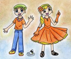 Ryan and Sharpay by Mushroom-Cookie