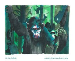 Dawn of the planet of the apes by EXTRAMURDOCK
