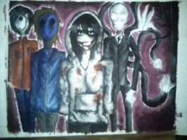 Creepypasta Family by floriyon