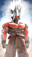 Super Saiyan God White by WitchyGmod