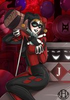 Bat-cute - Harley Quinn by Hedrick-CS