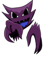 Shiny Haunter by Earth-pony-mischief