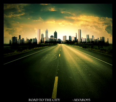 Road To The City by alvaro93