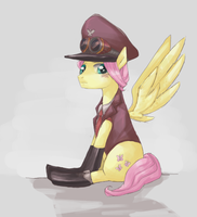 STEAMPUNK UNIFORM-PONY by Bikkisu