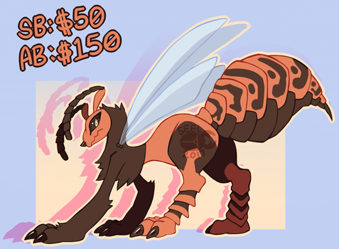 Hornet Chimereon Auction -CLOSED- by ground-lion