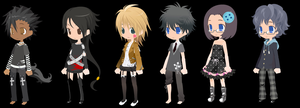 FREE! adoptables [CLOSED] by manythings101