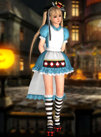 Marie Rose(Halloween 2015) Dead or Alive 5 LR by xXKammyXx