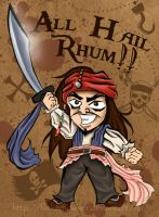 Jack Sparrow - Hail to Rhum by flickersowner