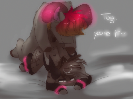 Tag, you're it! by HiccupsTheNoodle