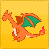 a wild CHARIZARD appears by Author-Goddess