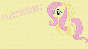 Fluttershy Wallpaper by 24KaratBrony