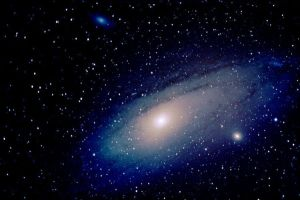 Andromeda Galaxy with Friends by quicksimon