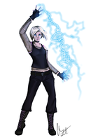 Shadowrun Combat Mage - Juno by LauraBelmont