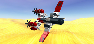 LEGO Vampire - Desert Flight by Aryck-The-One