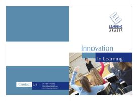 E Learning Brochure Cover by aloosh