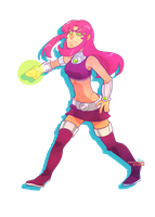 Super Bright Starfire by pinku