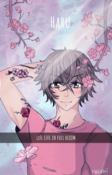Life live in full bloom by Maruran
