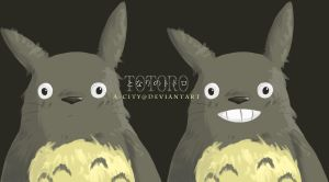 totoro by a-city