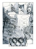 TLGNX page BD noir et blanc by typhon-humanoid