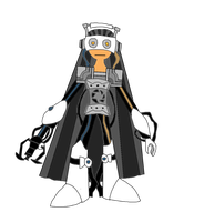 GLaDOS Reploid Model 1 by MetalShadowOverlord