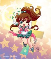 .:Chibi Super Sailor Jupiter:. by Mako-Fufu