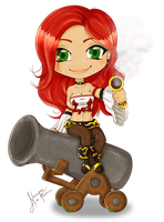 Miss Fortune by Nanique