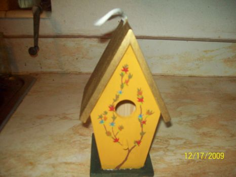 Mother's Bird House front by romantic-knight