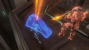 Halo 4 Shield Vs. Light by chaptmc