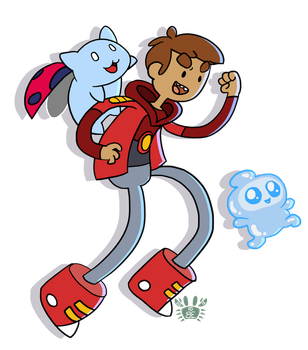 Bravest Warriors - Danny! by briteddy