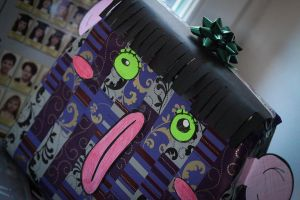 How I packed up a present by SlyAlex