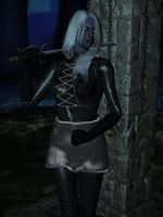Tessajga, female drow 2 by Riveda1972