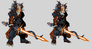 Infernal Naval Commander of Nulgath by dracometus