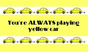 Yellow Car Wallpaper by FangsAndNeedles
