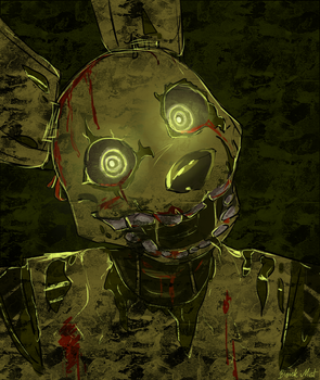 Springtrap by BlackMistOriginal