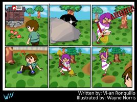 Animal Crossing Comic 4 by wayne-kun
