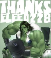 She Hulk Workout by elee0228