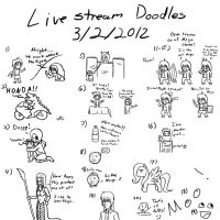 Livestream Doodles 3-2-2012 by Warlock0103