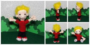 The Crocheted: Calvin by janey-in-a-bottle