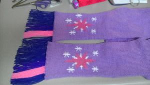 Twilight Sparkle Scarf by mandydax