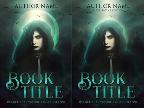 Premade book/ebook cover - Witch by artorifreedom