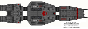 Gorgon class Heavy Cruiser by Barricade