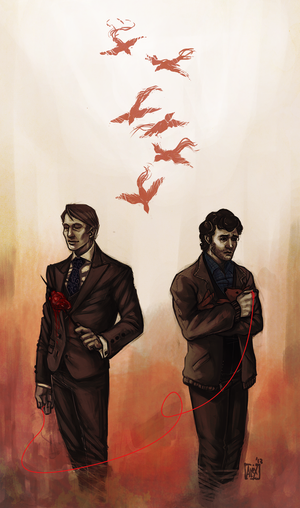 Hannibal - Red Thread by Moonlight-Mage-Shiro