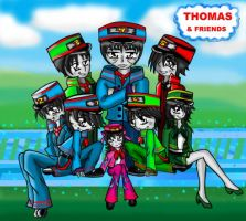 Thomas and Friends by I54R40N23